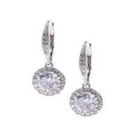 Nadri Round Cubic Zirconia Drop Earrings